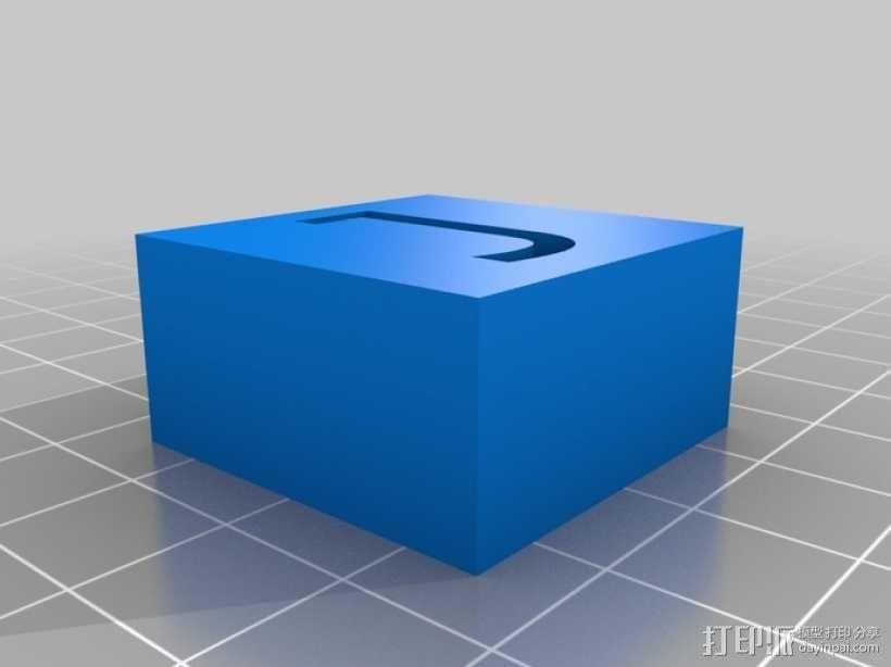 字母模型块 3D模型  图26