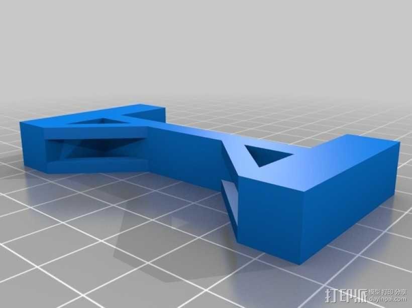 桥 模型 3D模型  图1