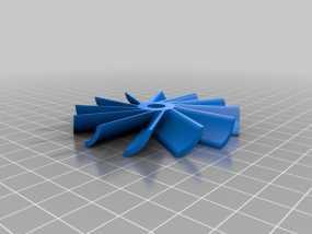 水轮机 风车 3D模型