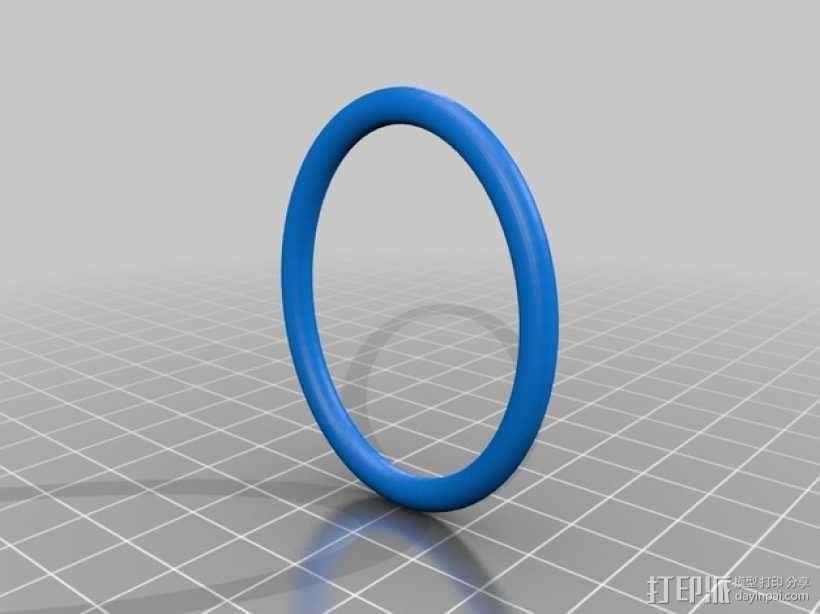 布尔环 3D模型  图4