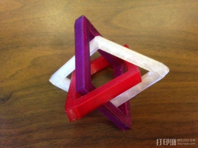 布尔环 3D模型  图8