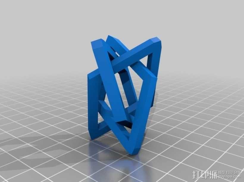 布尔环 3D模型  图13