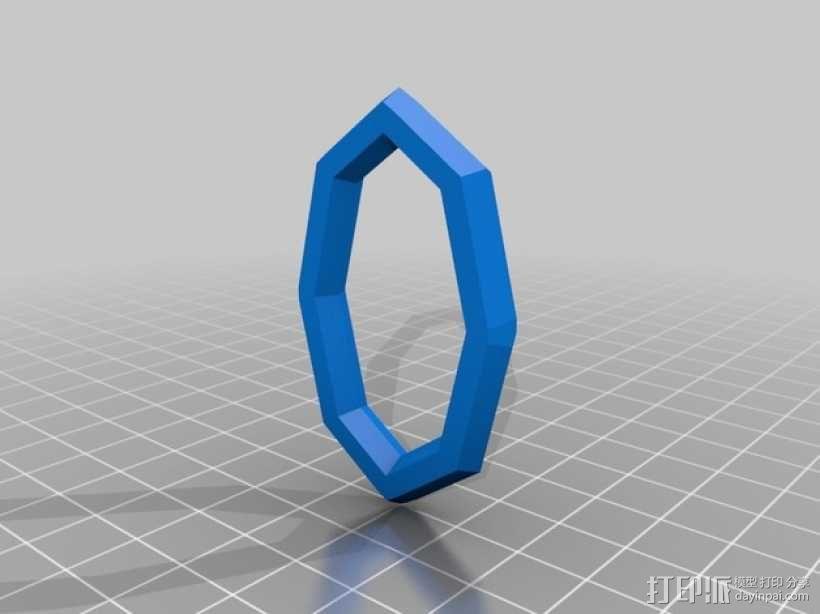 布尔环 3D模型  图17