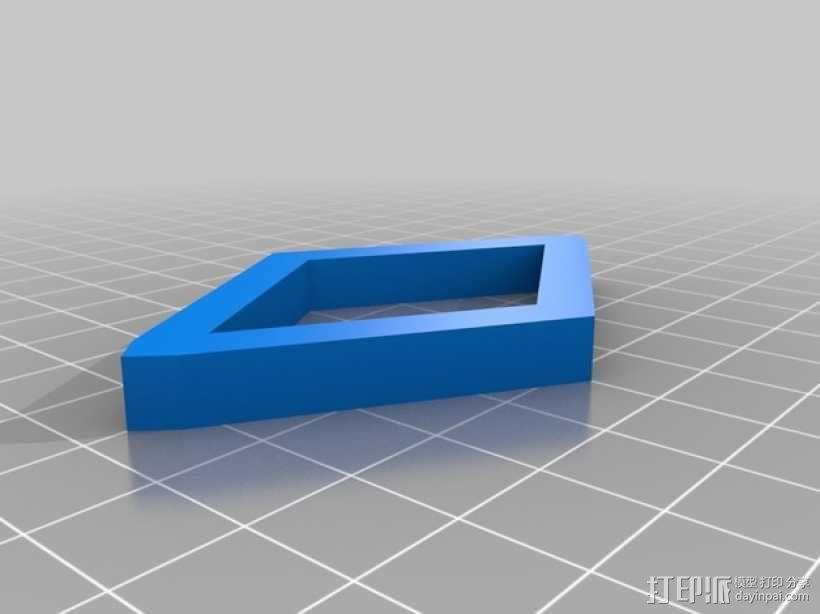 布尔环 3D模型  图15