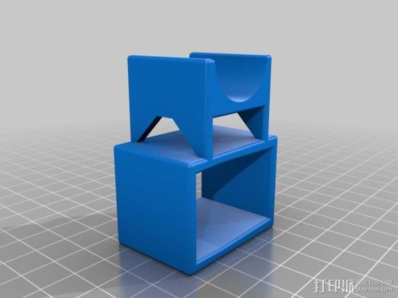 Asus Xtion Pro马达支座 3D模型  图1