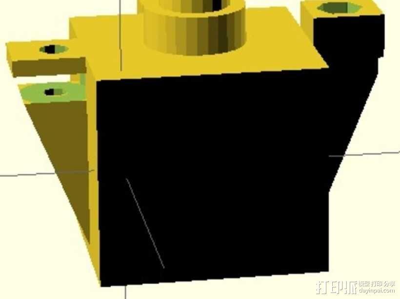 Dr.RobotLabs Adafruit Analog 相机套  3D模型  图3