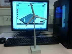 风力涡轮机 3D模型