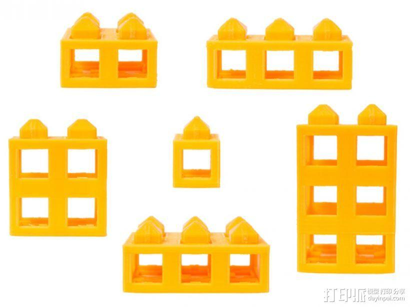 积木块 3D模型  图1