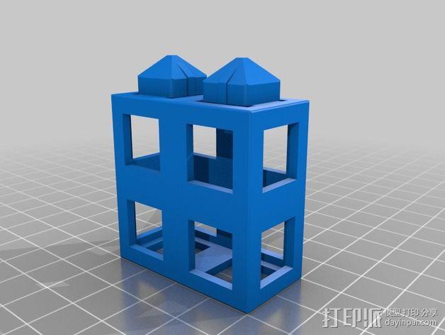 积木块 3D模型  图3