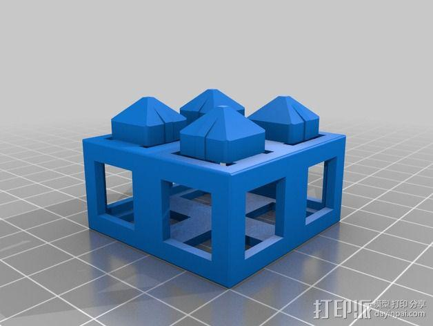积木块 3D模型  图5