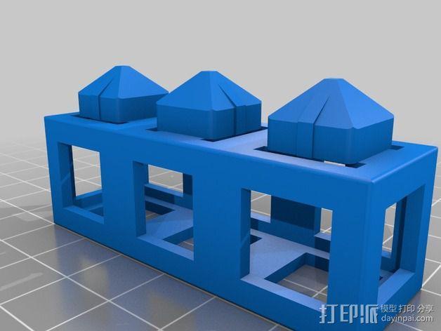 积木块 3D模型  图4