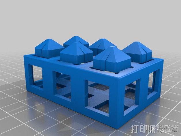 积木块 3D模型  图6