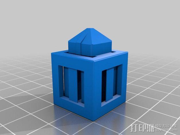 积木块 3D模型  图8