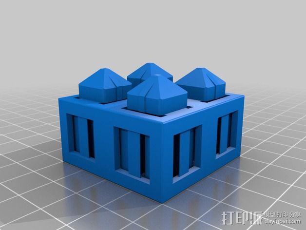 积木块 3D模型  图10