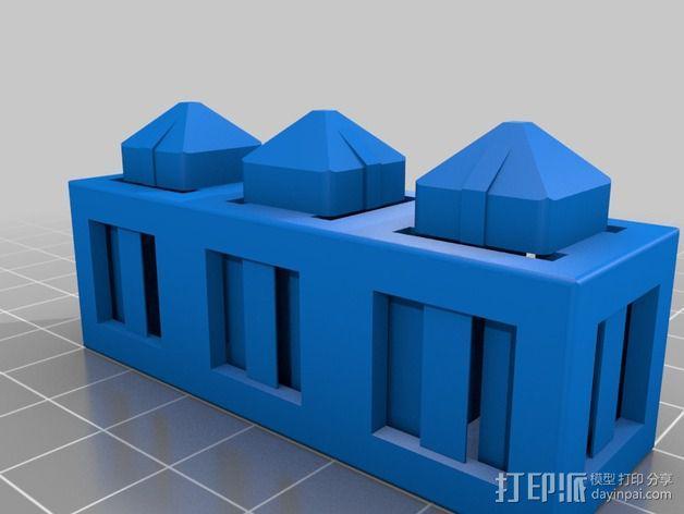 积木块 3D模型  图9