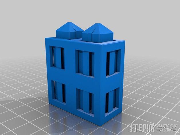 积木块 3D模型  图11