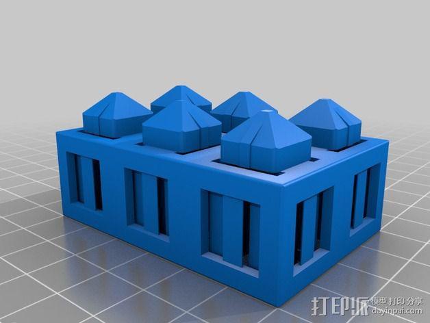 积木块 3D模型  图12