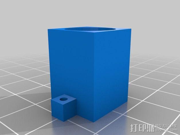 凸面摄像头 3D模型  图2