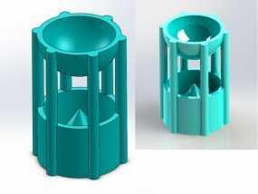 阿基米德容积定律 教学工具 3D模型