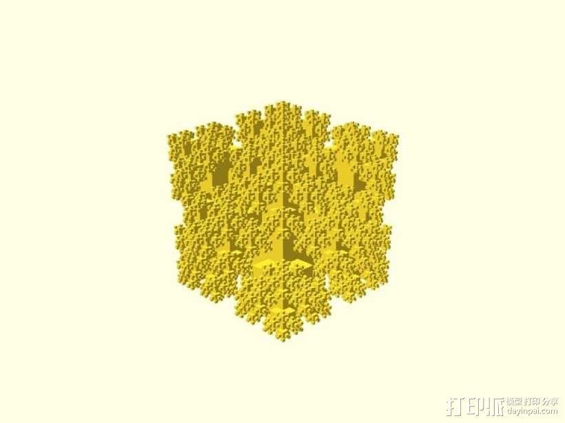 分形几何体 3D模型  图5