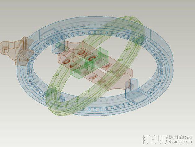 日晷模型 3D模型  图11
