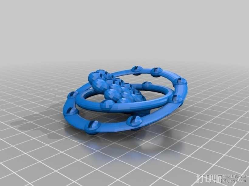氖原子模型 3D模型  图2