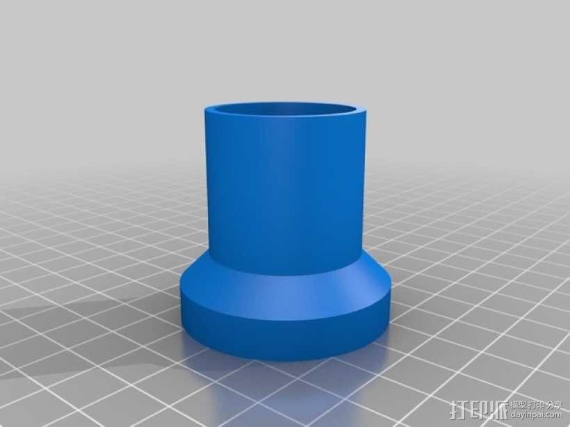 望远镜目镜管 3D模型  图1