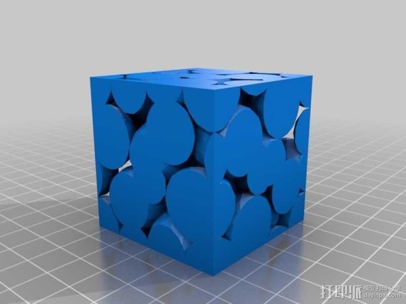 晶胞模型 3D模型  图1