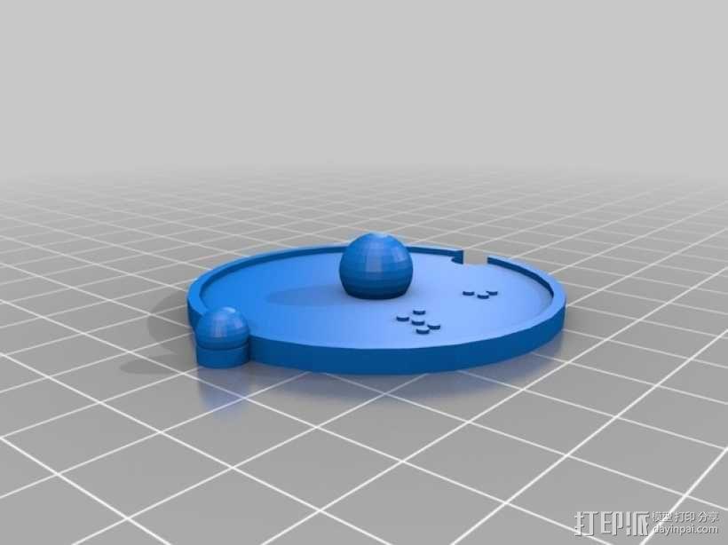 共价原子模型 3D模型  图2
