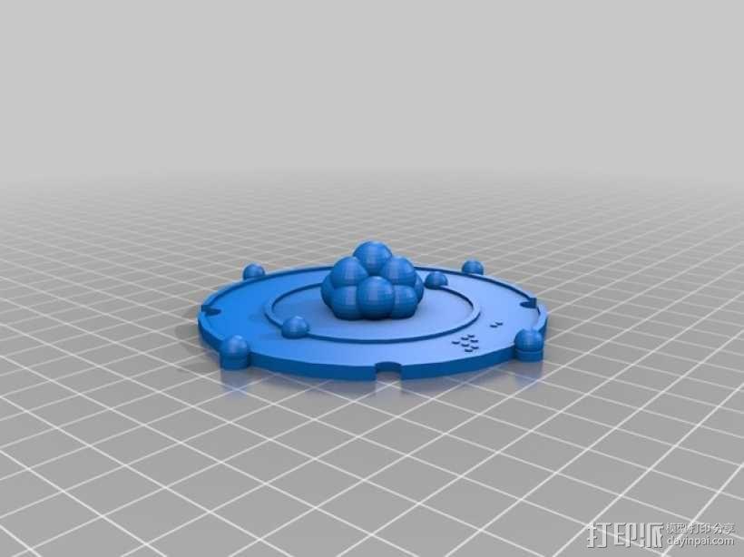 共价原子模型 3D模型  图4