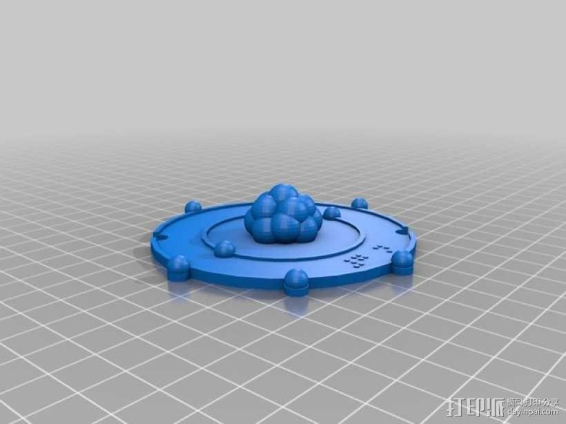 共价原子模型 3D模型  图3