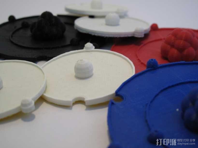 共价原子模型 3D模型  图6