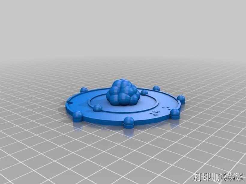 共价原子模型 3D模型  图5