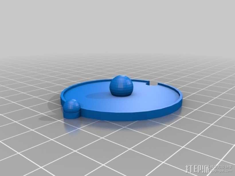 共价原子模型 3D模型  图11