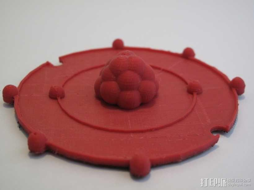 共价原子模型 3D模型  图8