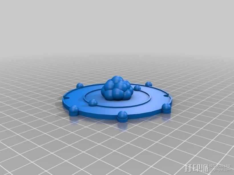 共价原子模型 3D模型  图12