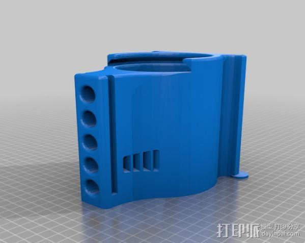 弹子锁 3D模型  图2