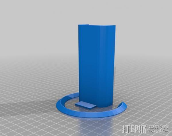 弹子锁 3D模型  图4