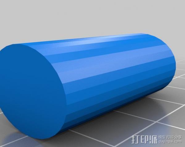 弹子锁 3D模型  图8