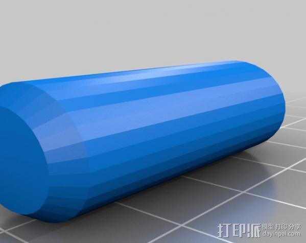 弹子锁 3D模型  图9