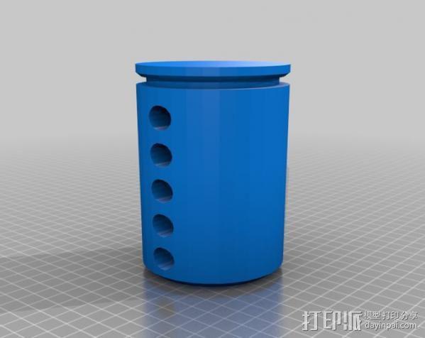 弹子锁 3D模型  图11