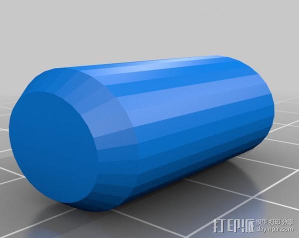 弹子锁 3D模型  图10