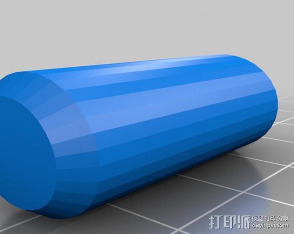 弹子锁 3D模型  图12