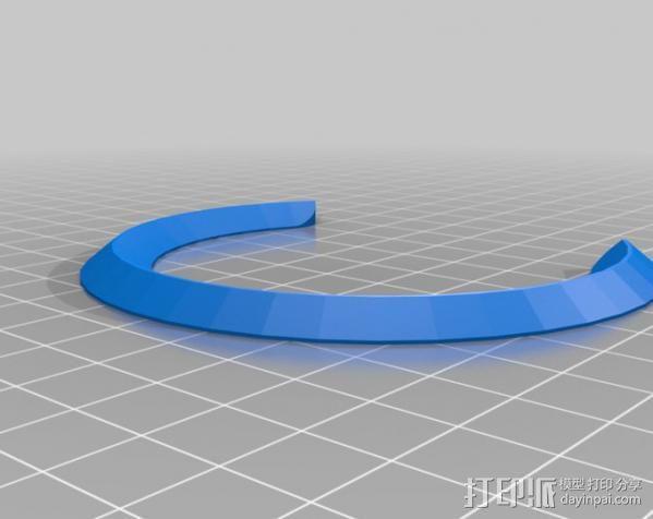 弹子锁 3D模型  图16