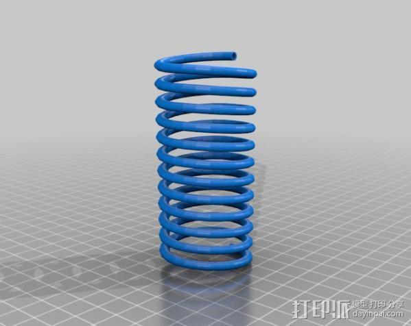 减震器 3D模型  图3