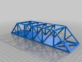 桁架桥模型 3D模型