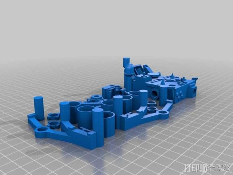 火星探测器模型 3D模型  图1