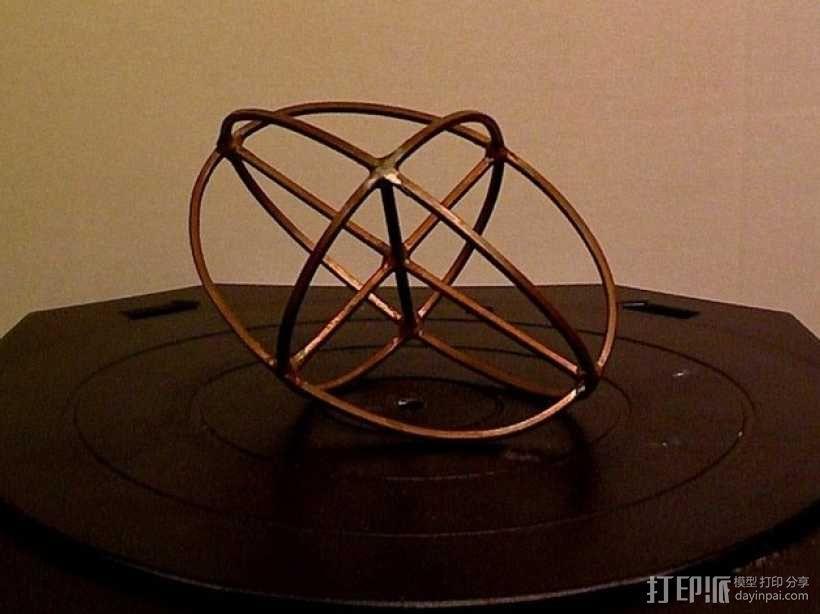 折射率椭球模型 3D模型  图1