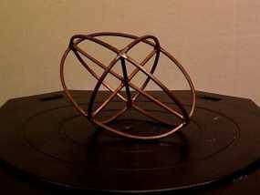 折射率椭球模型 3D模型