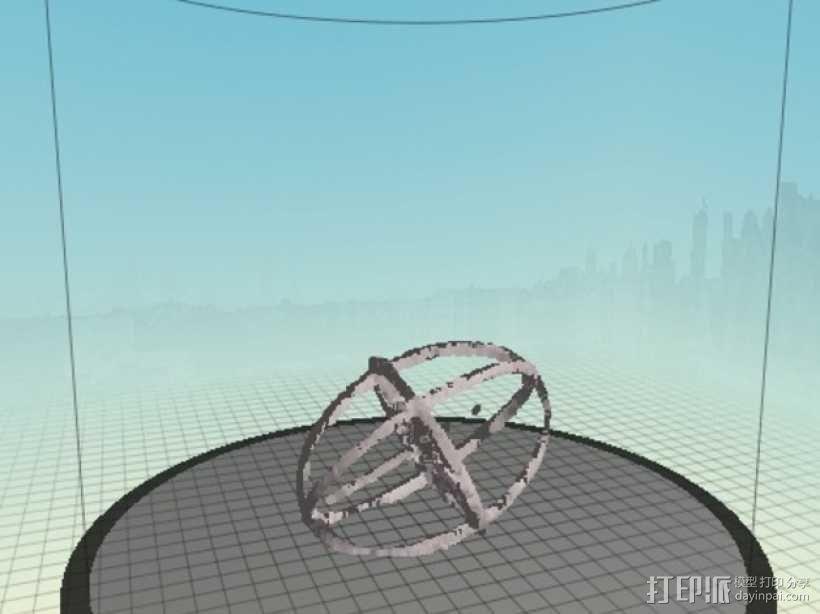 折射率椭球模型 3D模型  图3